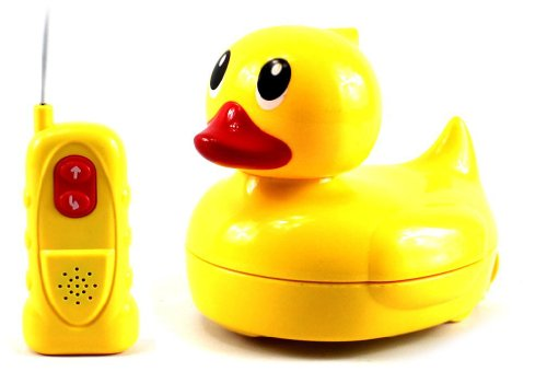 Ultimate Cute Amphibious Electric Rc Toy Duck, Can Be Used In Both Water And On Land