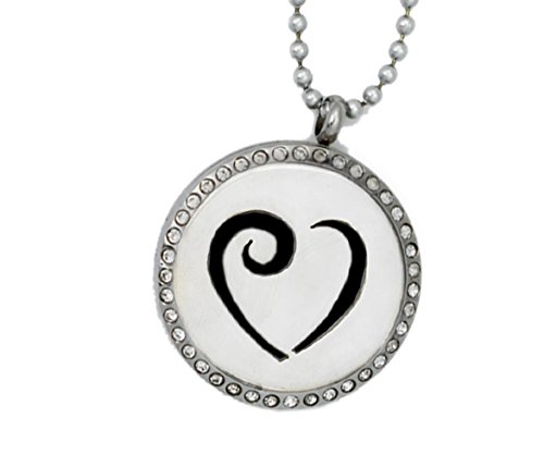 aromatherapy-essential-oil-diffusing-necklace-314l-stainless-steel-24-stainless-steel-chain-heart-wi
