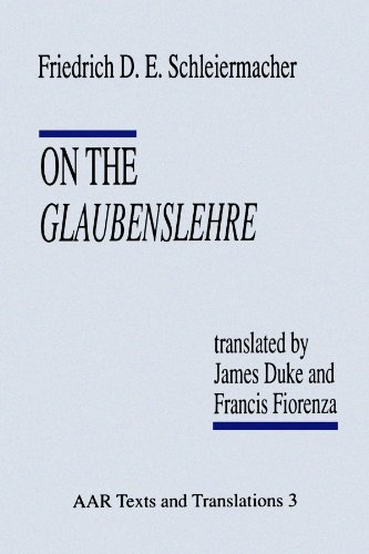 On the Glaubenslehre: Two Letters to Dr. Lücke (Texts...