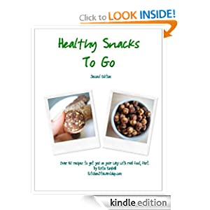 Kindle Book Bargains: Healthy Snacks to Go: Over 45 recipes to get you on your way with real food, fast (and Gluten-free!), by Katie Kimball. Publisher: Kitchen Stewardship, LLC; 2 edition (April 26, 2010)