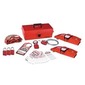 Master Lock 1457V1106KA Personal Lockout/Tagout Kit