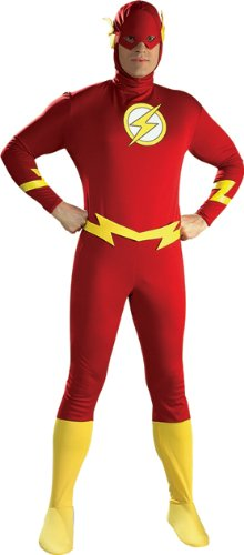 Flash Adult Costume Medium Large X-Large Cartoon Character