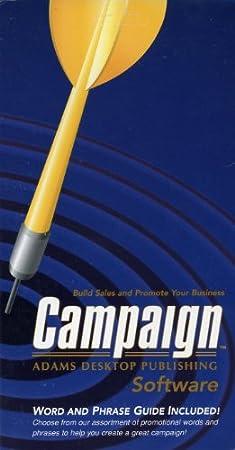 Campaign Adams Desktop Publishing Software Business Promotion
