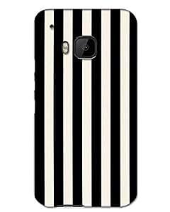 MobileGabbar HTC One M9 Back Cover Printed Designer Hard Case