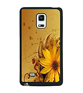 PRINTSWAG FLOWER PATTERN Designer Back Cover Case for SAMSUNG GALAXY NOTE EDGE