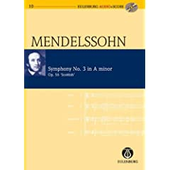 Symphony No. 3 in A Minor / a-Moll Op. 56 'Scottish' (Eulenburg Audio+Score Series)