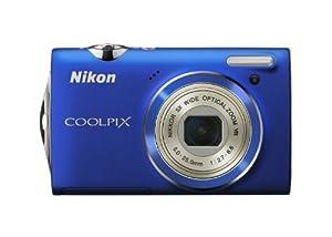 Nikon Coolpix S5100 Digitalkamera (12 Megapixel, 5-fach opt. Zoom, 6.7 cm (2.7 Zoll) Display, HD-Videofunktion) blau