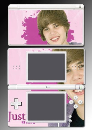 Justin Bieber Baby My World Vinyl Decal Cover Skin Protector 15 for Nintendo DS Lite