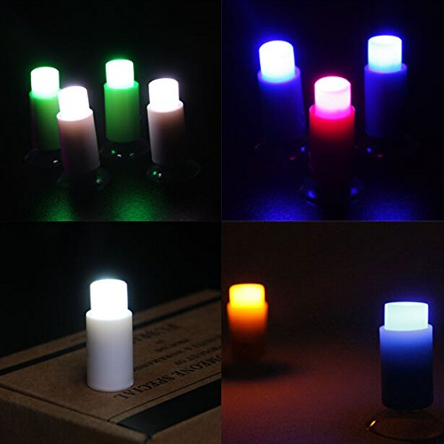 Blogger Push Pin Led Light with Suction Cup Sticker Party Decorate Wall Night Light for Bar Home Kid Child Room (5 Pcs)