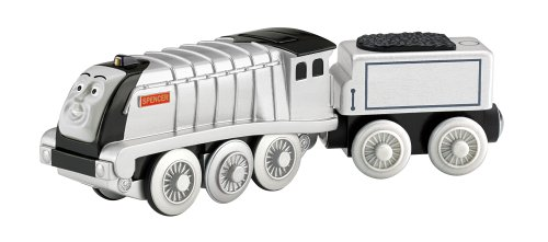 Fisher-Price Thomas The Train: Wooden Railway Battery-Operated Spencer front-10877