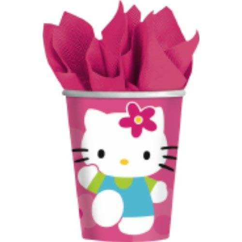 Hello Kitty Flower Fun Cups 8ct