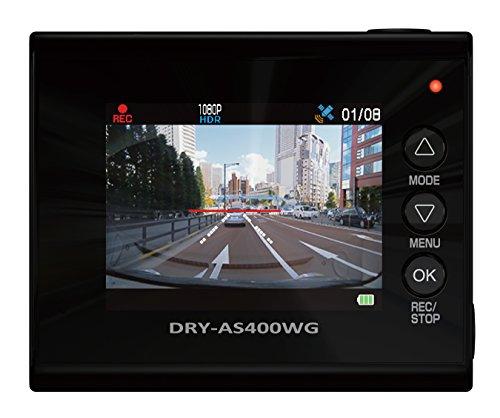 ユピテル(Yupiteru) 400万画素  GPS機能 ドライブレコーダー DRY-AS400WGc