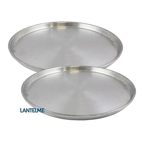2-Stck-Set-30-cm-Pizzablech-rund-aus-Aluminium--Alu-eloxiert-Pizza-Blech-Form