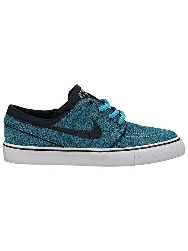 Nike - Stefan Janoski Gs - Color: Black-Blue-Light Blue - Size: 6.5Us
