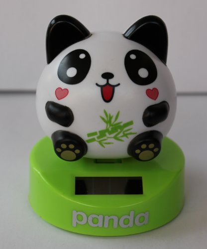 Solar Powered dancing BABY GIRL PANDA