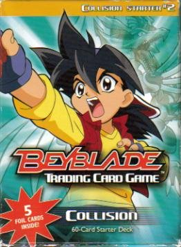 Beyblade Trading Card Game Collision Starter Series 2