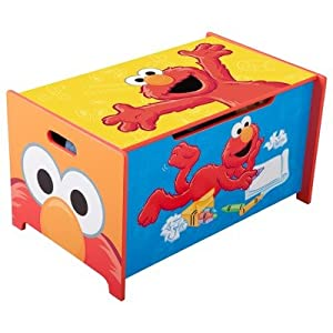 Sesame Street Toy Box from Delta Enterprise