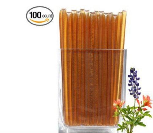 Floral Honeystix - Wildflower - 100% Honey - Pack Of 100 Stix - 250G