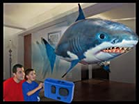 Air Swimmer Remote Control Inflatable Flying Shark by William Mark