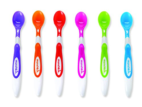 Munchkin Soft Tip Infant Spoons 6 Pack - 1