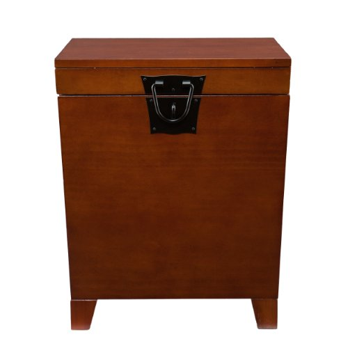 Night Stand Oak front-1061966