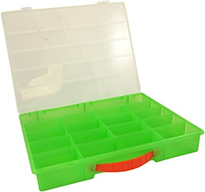 Green Minecraft Compatible Carrying Case, Large Case Holds 100's of Minecraft Minifigs, Great for Minecraft Collectors from Cornucopia Brands
