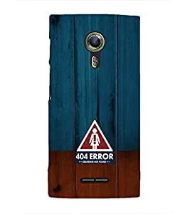 EPICCASE 404 Error Girlfriend not found Mobile Back Case Cover For Alcatel One Touch Flash 2 (Designer Case)