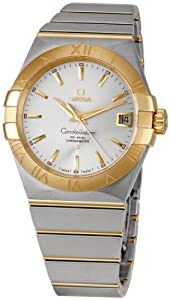 Omega Men's 123.20.38.21.02.002 Constellation Silver Dial Watch