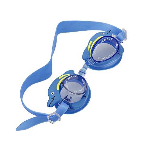 FakeFace® Kinder süße niedliche Wasserdicht Schwimmbrille 100% UV-Schutz
