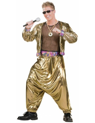 80s Video Super Star Fancy Dress Costume