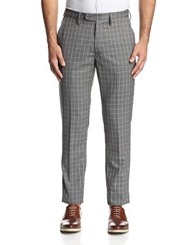 Todd Snyder Men's Windowpane Wool Trouser