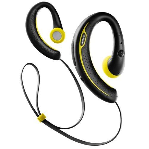 Jabra SPORT+ Wireless Bluetooth Stereo Headphones - Retail Packaging - Black and Yellow Jabra Headphones autotags B00DV9O0GC