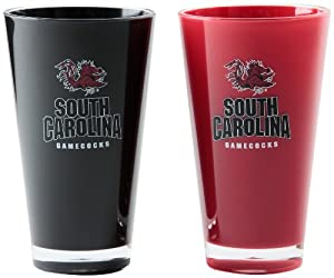 NCAA South Carolina Fighting Gamecocks 20-Ounce Insulated Tumbler - 2 Pack