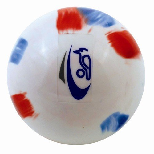 Kookaburra Burra Smooth Hockey Ball In White,Swirl,Pink