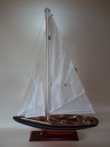 Ranger-Segelyacht-Holzmodell-Modellschiff-Segelboot-Segelschiff-Modell