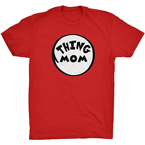 Thing Mom Adult Unisex T-shirt Family Couple Halloween Costume Dr.Cat Tee Red XXX-Large (Good Costumes For Couples)