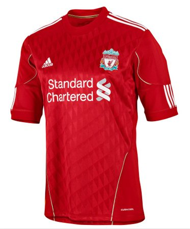Liverpool Home Jersey 2010 Short Sleve (2XL)