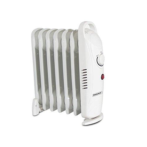 BEPER 70.333 - Radiatore ad olio 7 elementi MINI - SOLO 700 WATT