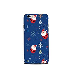 Mikzy Santa Clause In Sky Printed Designer Back Cover Case for Iphone 6/6S