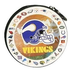Minnesota Vikings NFL Team Logos CD / DVD Case Holder