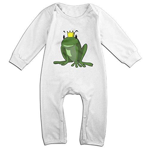 Posit-Babys-Frog-1-Boys-Girls-Kids-Creeper-Romper-Bodysuits-Jumpsuits-Size-US-White