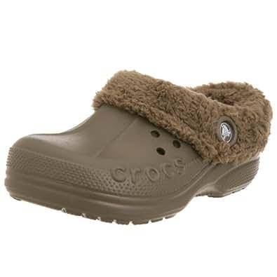 Crocs Blitzen Clog (Toddler/Little Kid),Chocolate/Chocolate,10-11 M US Toddler