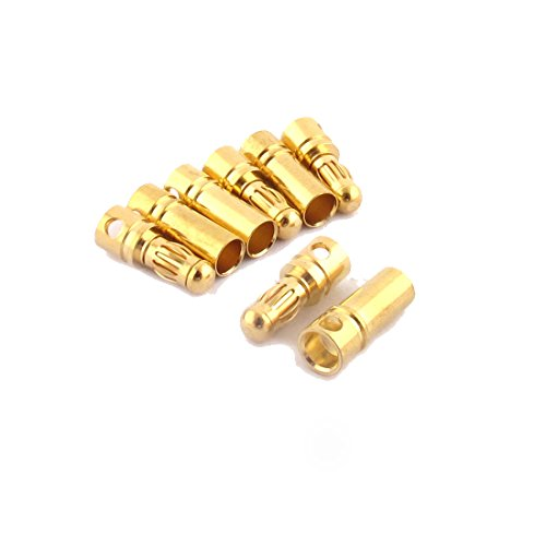 sourcingmapr-rc-motor-esc-battery-35mm-male-female-banana-plugs-connector-4-pairs-gold-tone