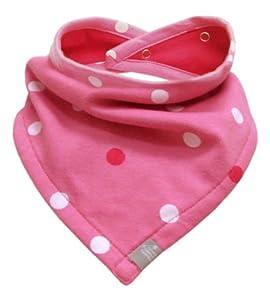 Little Green Radicals Polka Dot Bibanas (Pink)