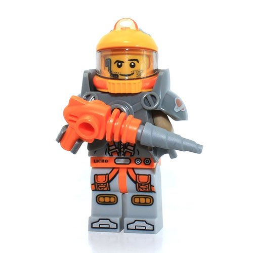 LEGO Series 12 Collectible Minifigure 71007 - Space Miner - 1