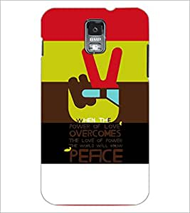 PrintDhaba Quote D-3925 Back Case Cover for SAMSUNG GALAXY S5 (Multi-Coloured)