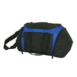 Buy 21 Sports Duffel Bag with Elastic Ropes Gym Duffle Bag by DALIX