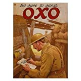 P1275 BE SURE TO SEND OXO FUN POSTER PRINT