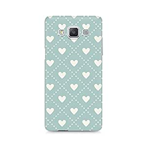 High Quality Printed Cover Case for Samsung A5 Model - Heart Vintage