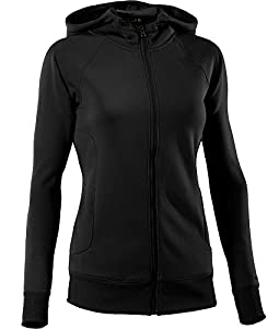 Under Armour AF Storm Women's Hooded Sweat Shirt Full Length Zip black black / black Size:FR : XS (Taille Fabricant : XS)
